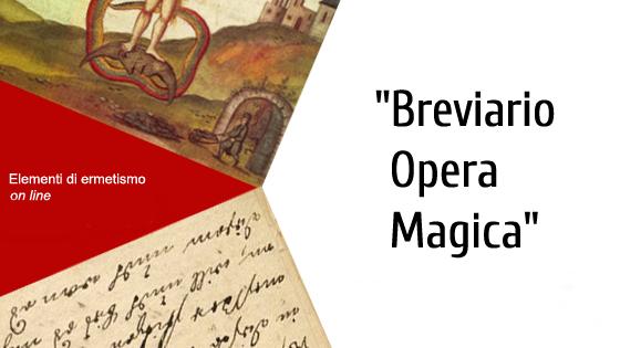 Breviario Opera Magica